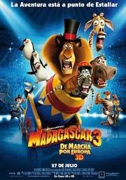 Madagascar 3: de marxa per Europa